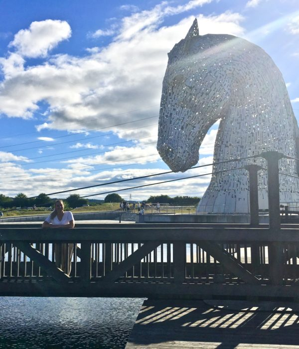 A wee trip to Kelpies Hub, Scotland July '18
